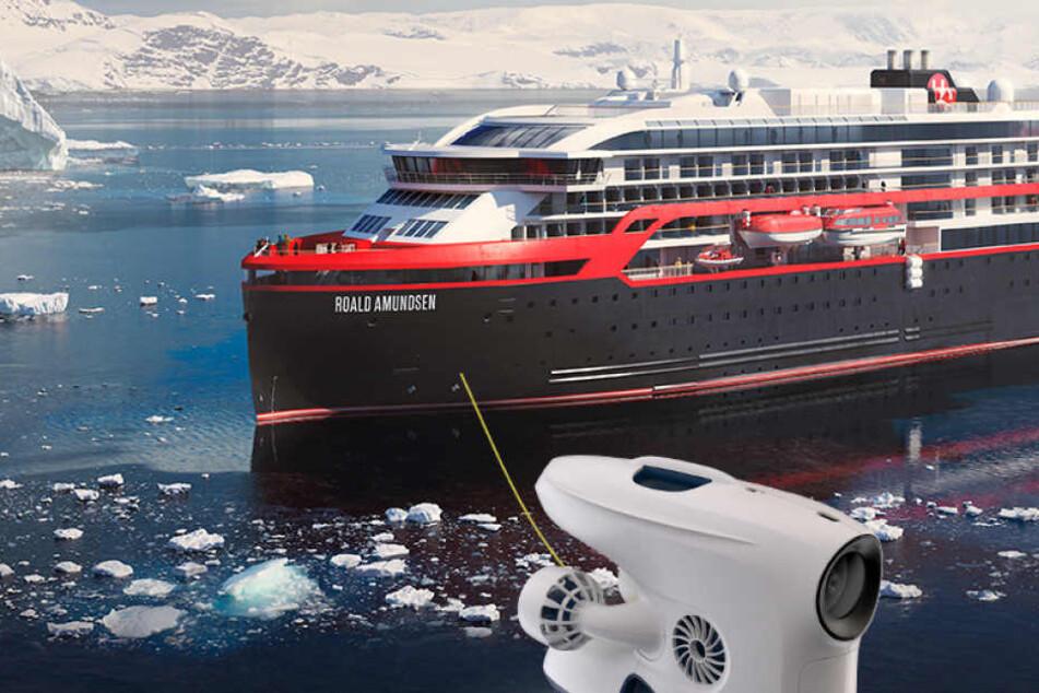 Deshalb begleiten bald Unterwasser-Drohnen Kreuzfahrtschiffe