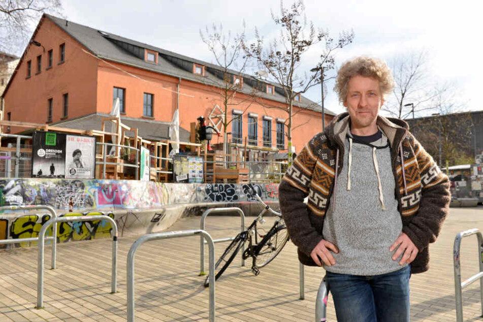 Stadtrat Torsten Schulze (49, Grüne)