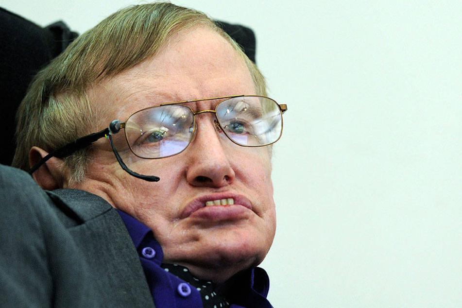 Stephen Hawking starb im März mit 76 Jahren.