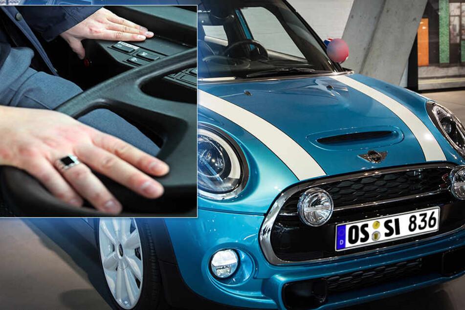 Auto-Diebe machen sich's bequem: auch mit einer Fernbedienung funktioniert die neue Masche.