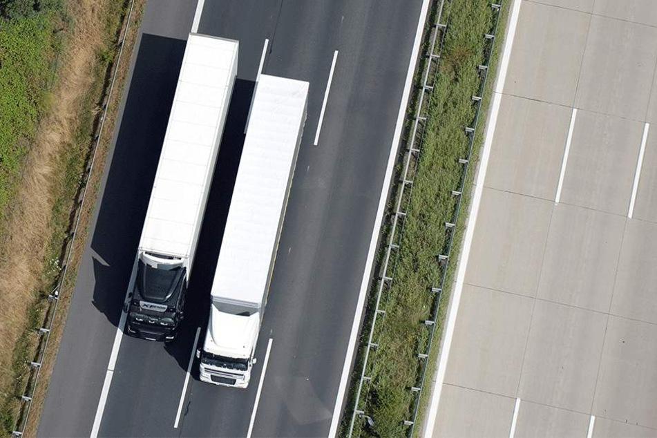 Wären die Autobahnen immer so frei wie hier, käme keiner auf die Idee, Überholverbote zu verhängen.