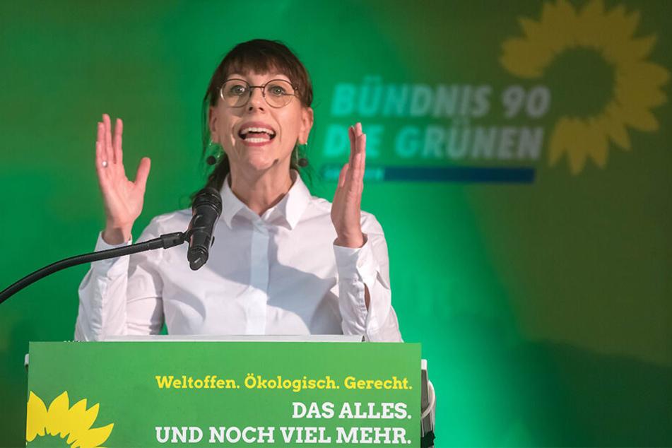 Vielleicht bald Regierungsmitglied: Grünen-Spitzenkandidatin Katja Meier (39).