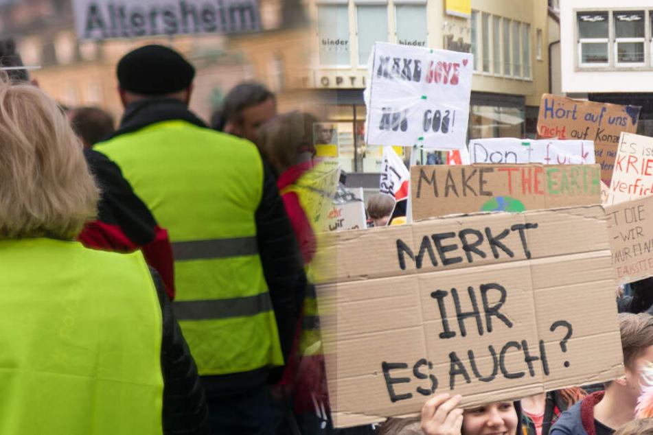 Konfliktreiche Demos in Stuttgart? Die einen für Diesel, die anderen für die Umwelt