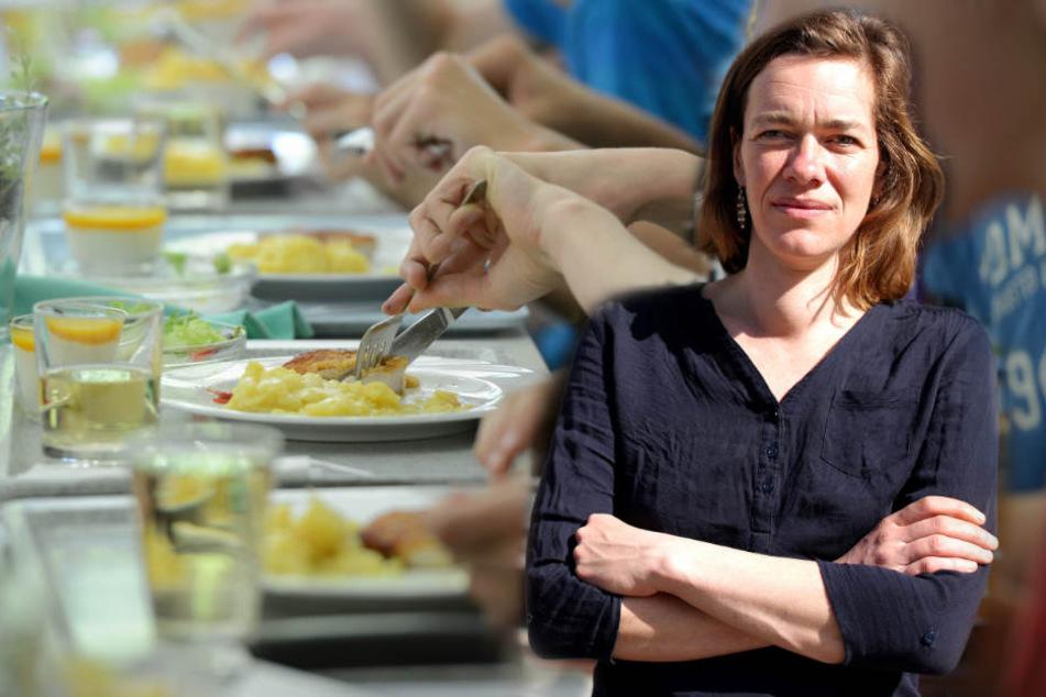Gratis-Mittagessen: Darum fordert es die Linke nur für Leipzig-Pass-Kinder