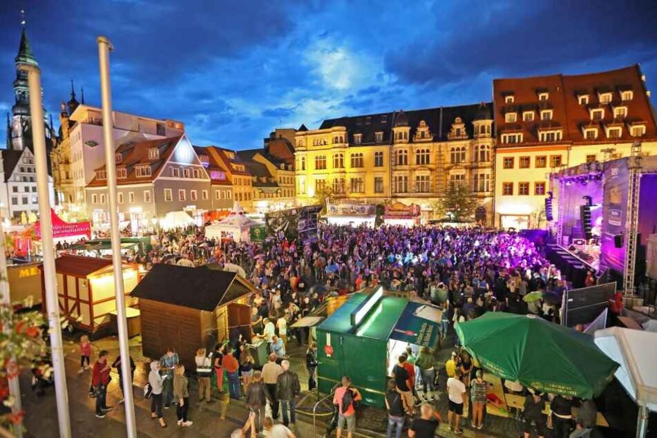 Das Zwickauer Stadtfest ist jedes Mal eine große Party, legt aber auch die Innenstadt teilweise lahm. (Archivbild)