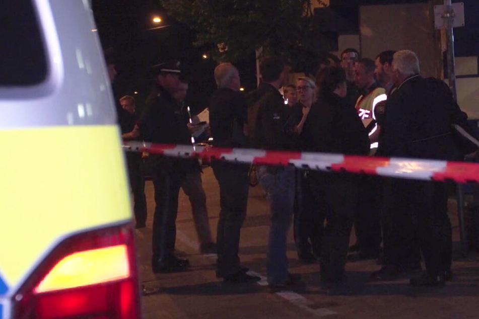 Die Polizei war nach dem Zwischenfall in der Münchner Innenstadt mit einem Großaufgebot vor Ort.