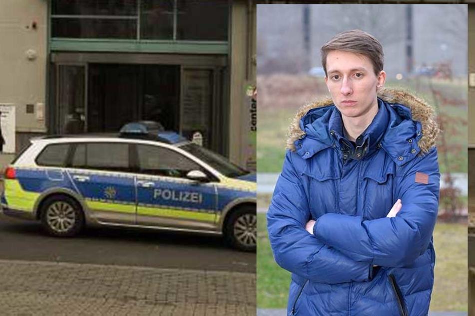 Philip Gutzeit gelang es, den bewaffneten Mann in Schach zu halten, bis die Polizei kam.