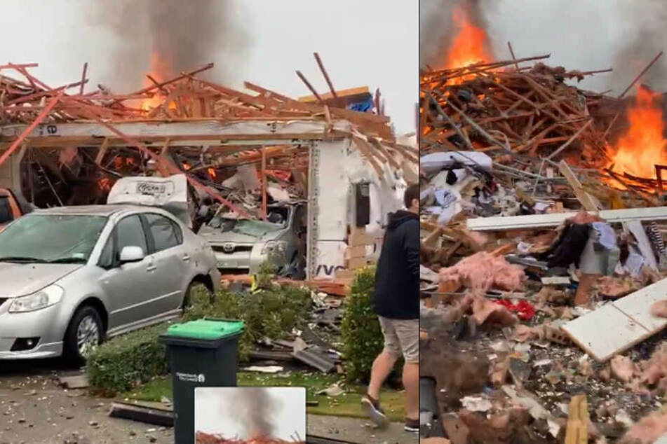 Erneuter Anschlag? Mega-Explosion erschüttert Christchurch