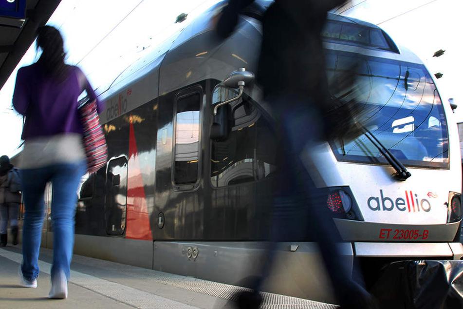 Züge des Unternehmens Abellio sind betroffen.