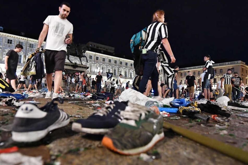 Rund 1400 Verletzte bei Public Viewing in Turin