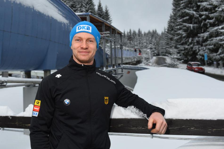 Francesco Friedrich hofft beim Heim-Weltcup in Altenberg auf einen Sieg.