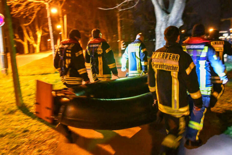 Dramatische Suchaktion in Magdeburg: Verschwundener Mann wieder aufgetaucht