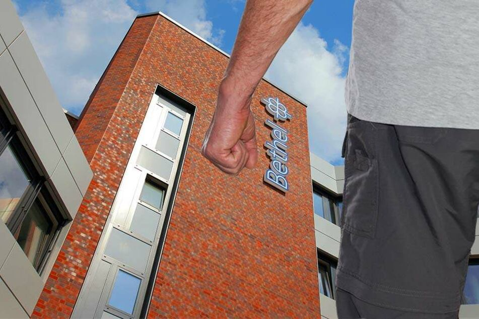 Gleich drei Bethel-Mitarbeiter wurden Opfer des betrunkenen Höxteraners.