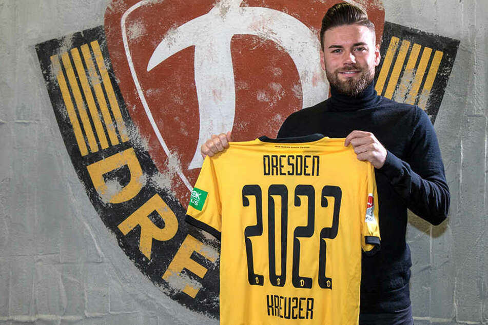 Bis 2022 bleibt Niklas Kreuzer ein Dresdner.