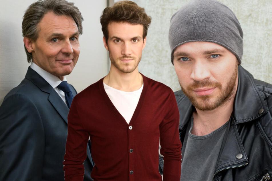 Jo Gerner (v.l.), Felix Lehmann oder Erik Fritsche - jeder von ihnen könnte Merles Vater sein.