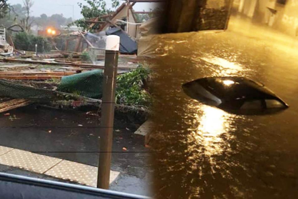 Das Wasser stand sechs Meter hoch! Elf Tote nach schlimmsten Überschwemmungen