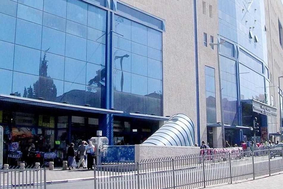 Der zentrale Busbahnhof in Jerusalem.