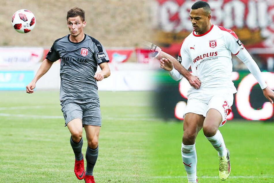 Auch die Leistungsträger Moritz Heyer (l.) und Marvin Ajani haben den Verein verlassen und versuchen sich in der 2. Bundesliga. (Bildmontage)