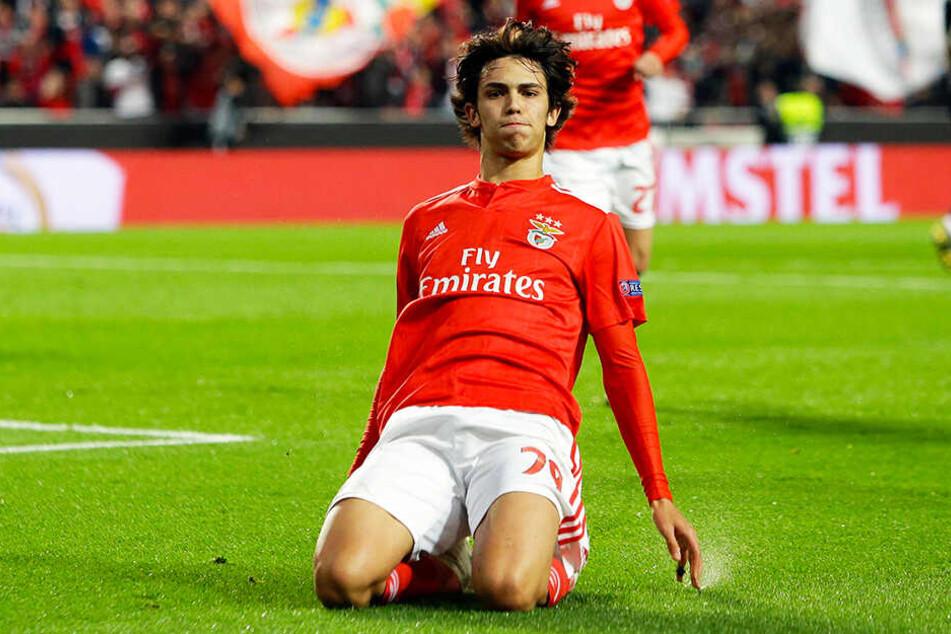 Gilt als größtes Talent des portugiesischen Fußballs: Joao Felix.