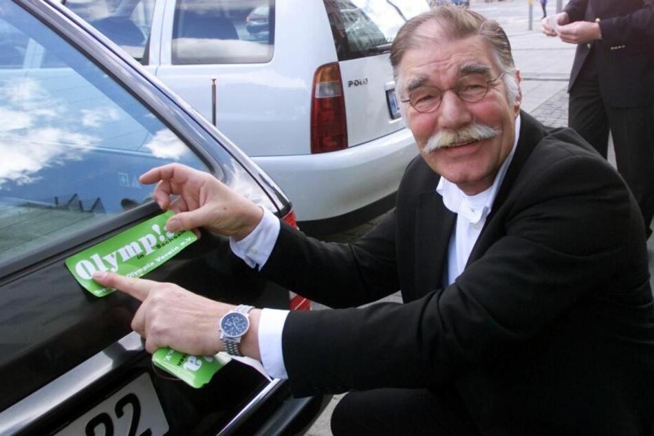 Der ehemalige Marketingdirektor der Sparkasse im Jahr 2002.