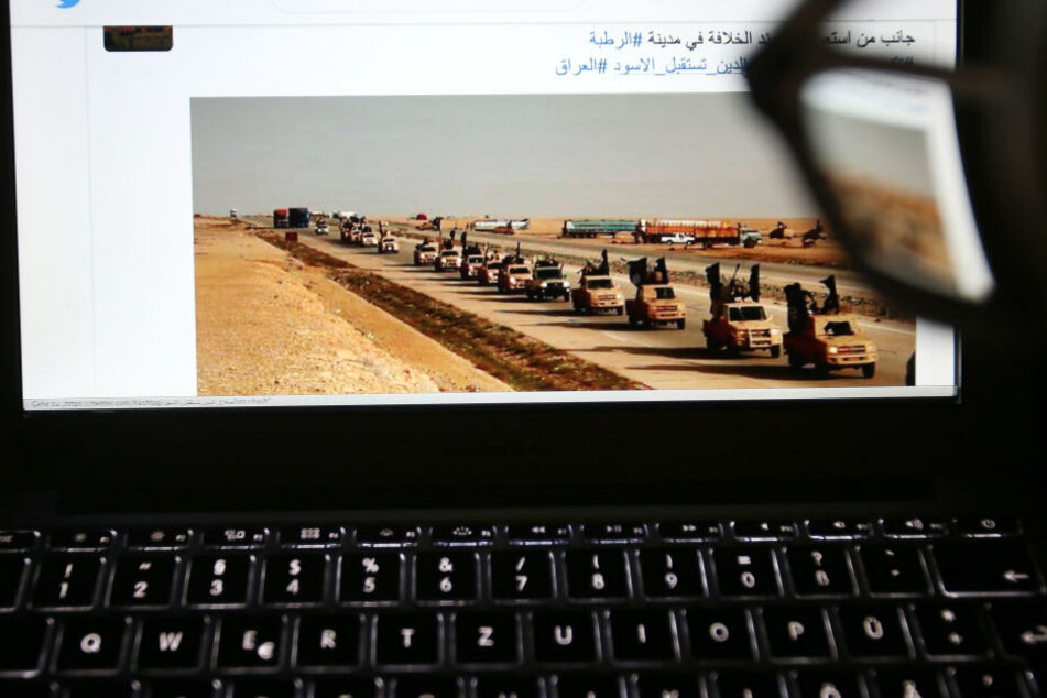 Der Mann hatte Post geteilt, die dem IS zugeordnet wurden. (Symbolbild)
