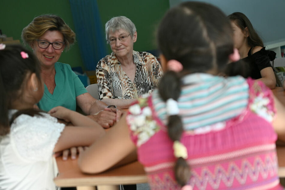 Die Senioren suchen zusammen mit den Schülern nach Lösungen bei Konflikten.