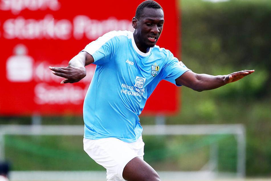 Tarsis Bonga will seine Chance beim Chemnitzer FC nutzen.