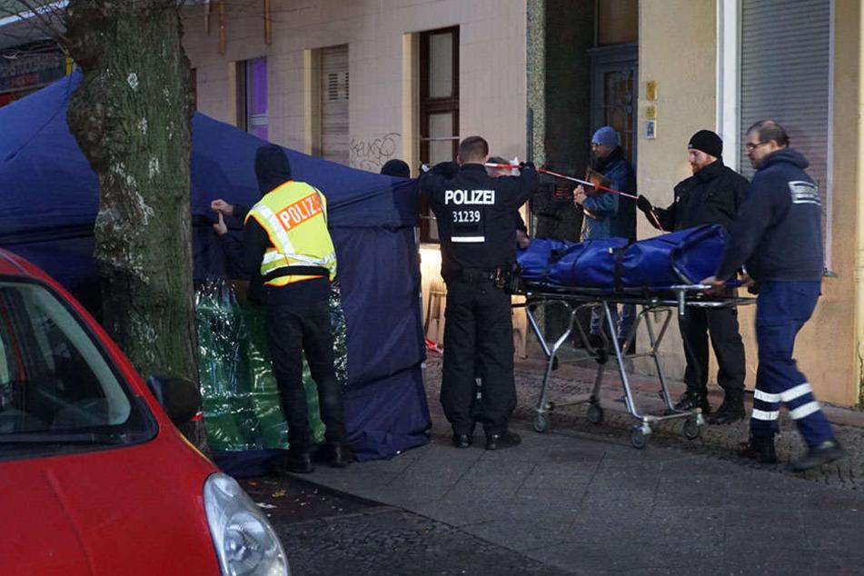 Berlin: Tote Frau in Stoffbündel wurde Opfer einer Gewalttat