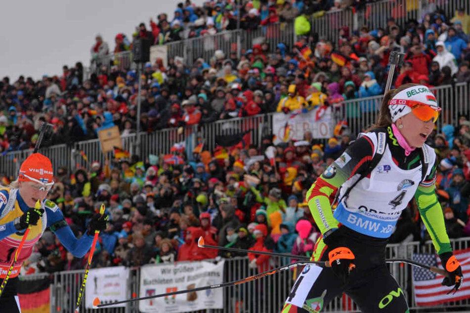 Beim 24. Weltcup können sich die Athleten wieder vor der Waldtribüne feiern lassen. (Archivbild)
