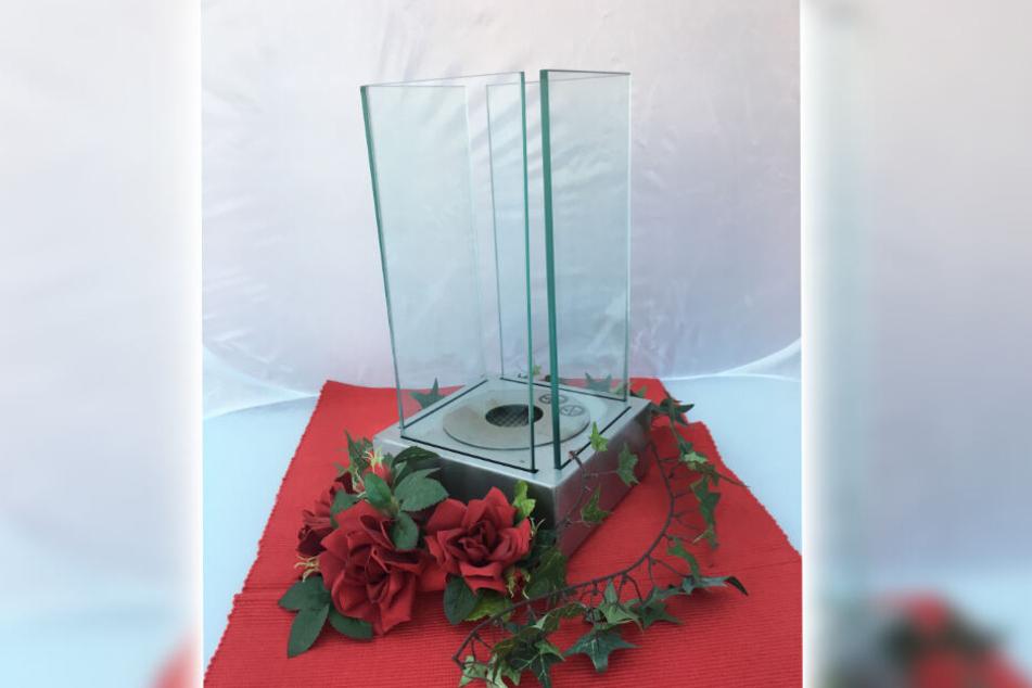 So einen Tischkamin bekommt Ihr beim Kauf eines Solarlux Wintergartens oder Glashauses gratis dazu.