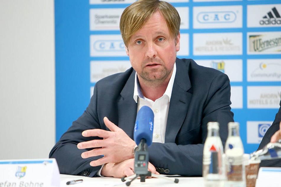 Stefan Bohne, erst seit Anfang März Mitglied im CFC-Vorstand, ist als Sanierer gefordert.