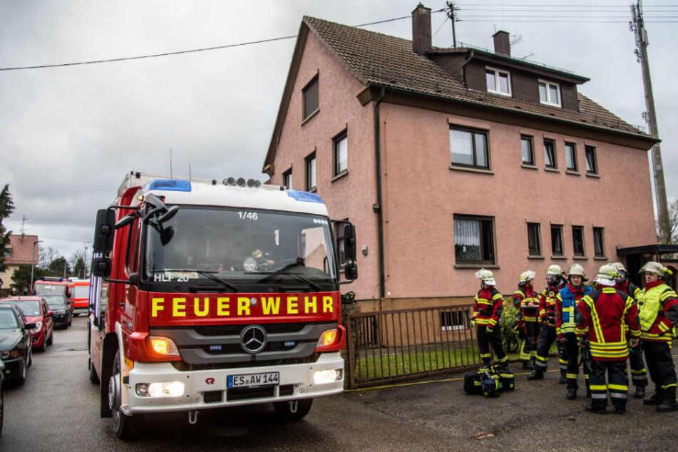 Die Feuerwehr war mit mehreren Einsatzkräften vor Ort.