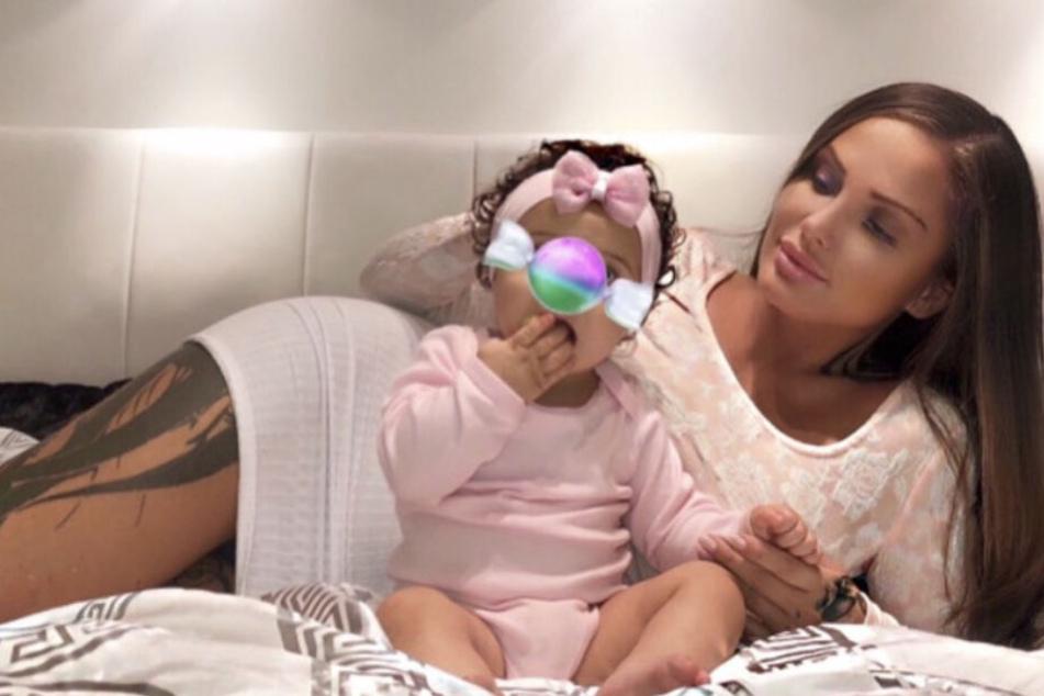 Schwesta Ewa ist komplett vernarrt in ihre Tochter Aaliyah Jeyla.