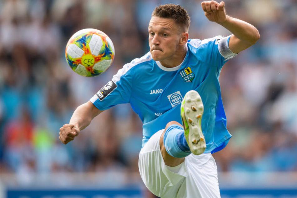Egal, welches Ergebnis die Verhandlung bringt - im Trikot des Chemnitzer FC wird Daniel Frahn sicher nicht mehr auflaufen.