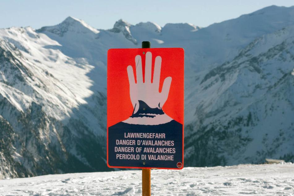 Drei deutsche Skifahrer sterben durch Lawine in Österreich