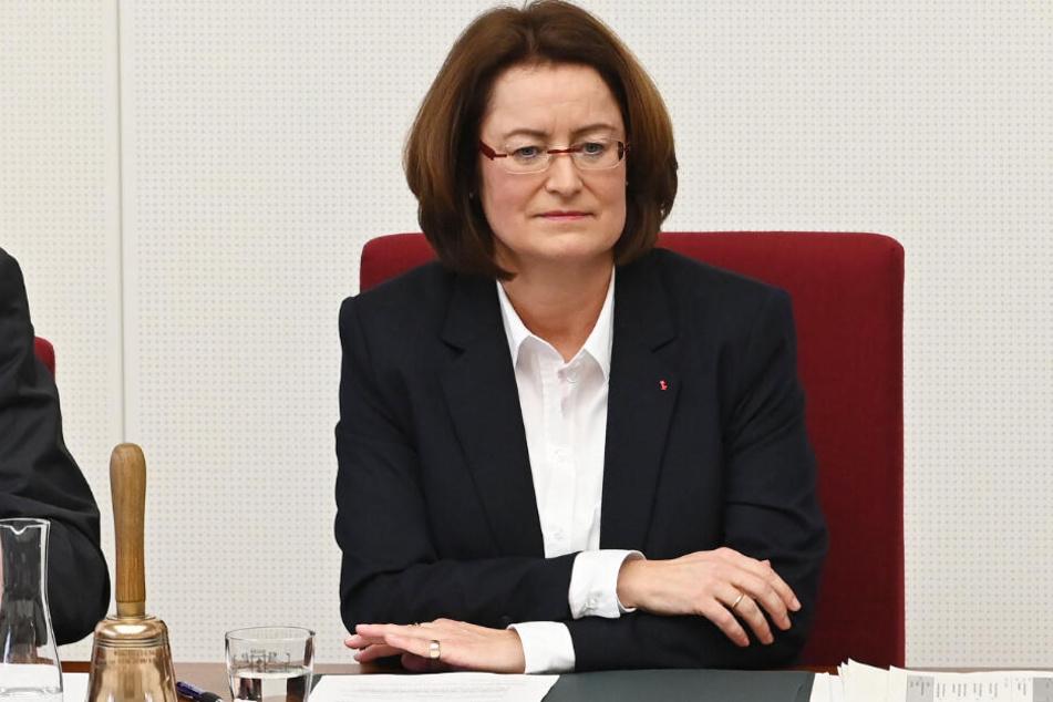 Eine Rede von Antje Grotheer (SPD) hat die AfD-Abgeordneten aufgebracht. (Archivbild)