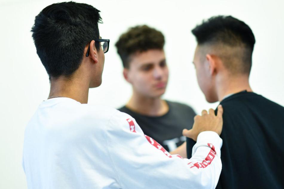 Eine Woche lang lernen die Schüler, wie sie besser mit Konfliktsituationen umgehen können.