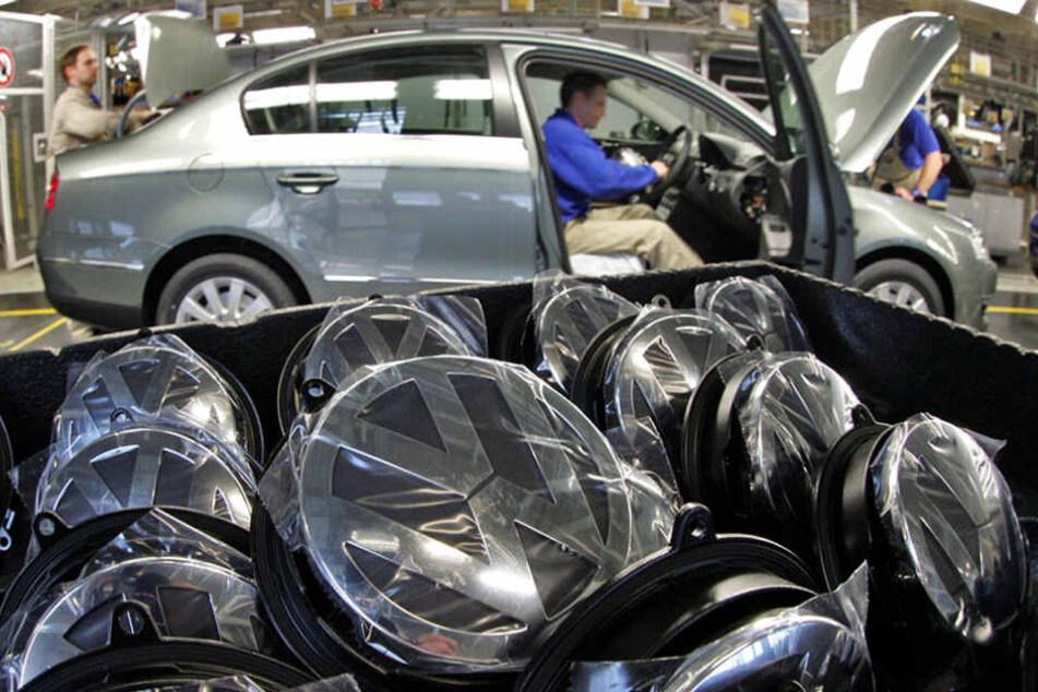 Wegen eines Streits mit Zulieferern kann bei VW nicht mehr regulär gearbeitet werden.