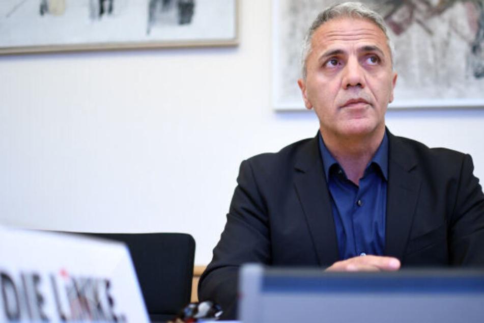 Hakan Tas nimmt im Abgeordnetenhaus an einer Sitzung des Berliner Untersuchungsausschusses zum Terroranschlag auf dem Breitscheidplatz teil.