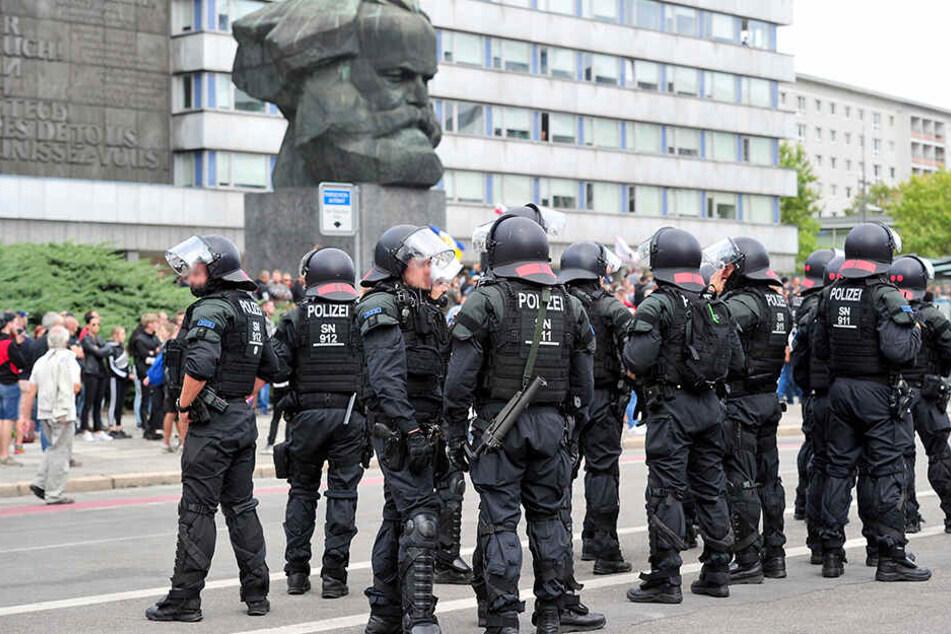 Neonazi-Aufmarsch in Chemnitz: Polizei rüstet sich für Großeinsatz