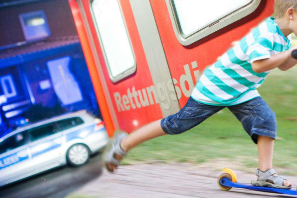 Das Kind hatte beim Überqueren der Straße nicht auf den verkehr geachtet (Symbolbild).