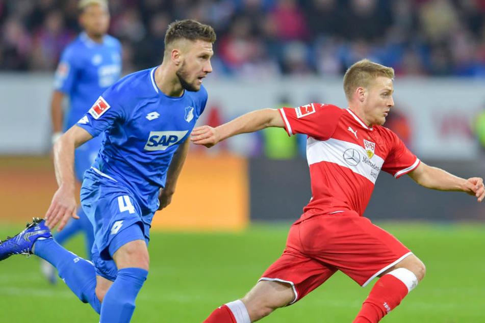 Das hatte heute Seltenheitswert: Der VfB am Ball.