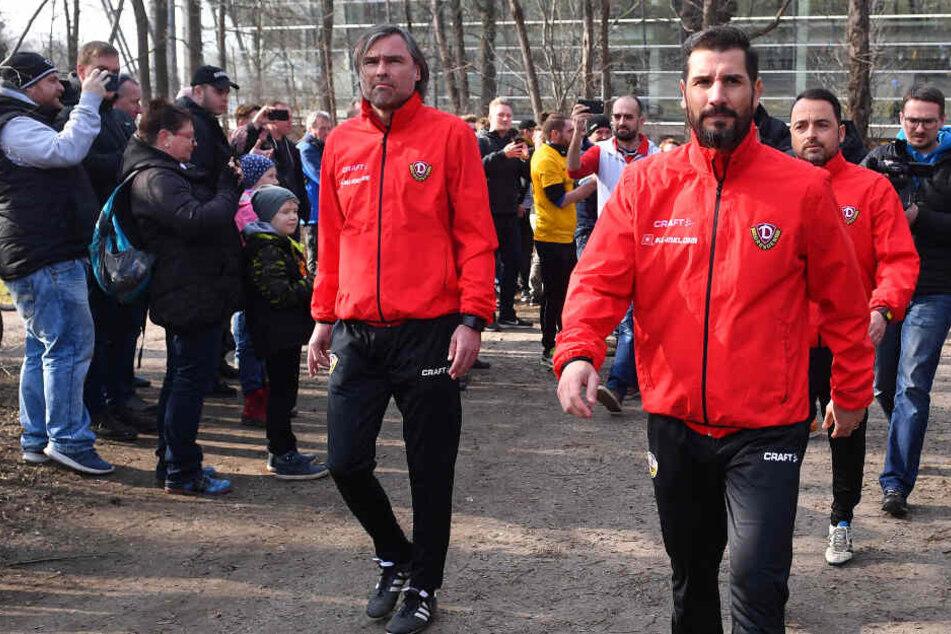 Entschlossen das Ziel Klassenerhalt zu erreichen, betrat Cristian Fiel den Trainingsplatz Ende Februar.
