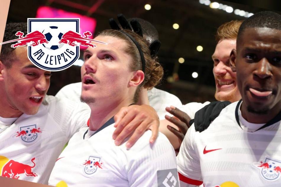 3:1 nach 0:1! RB Leipzig baut Tabellenführung im Ost-Derby aus