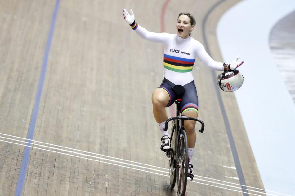 Bahnrad-Olympiasiegerin Kristina Vogel war Ende Juni im Training schwer gestürzt.