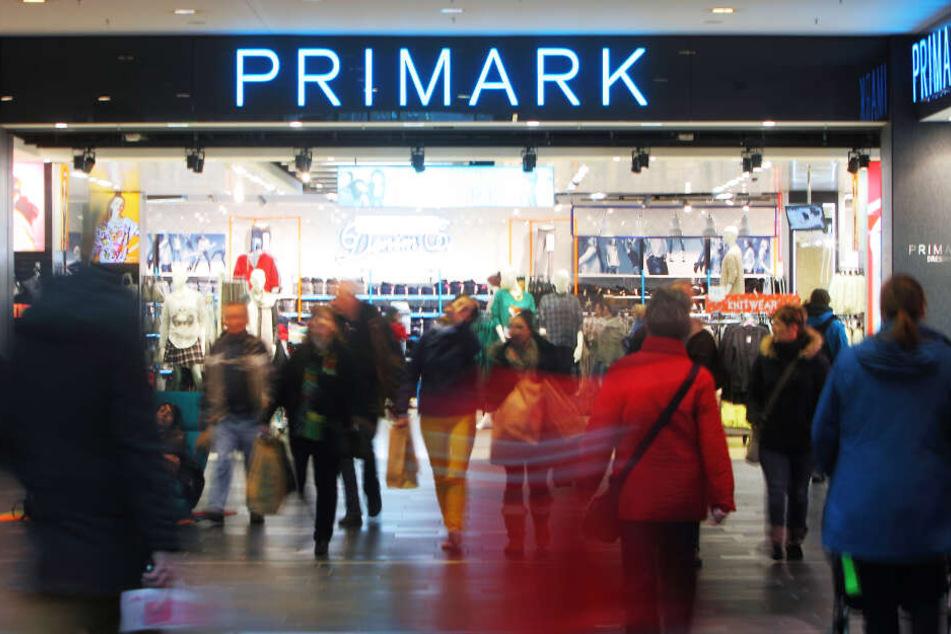 Oft herrscht reges Treiben in der Dresdner Primark-Filiale.