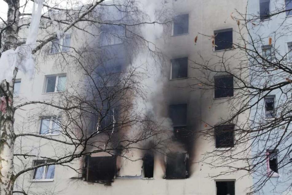 In einem Mehrfamilienhaus im Harz hat es eine Explosion gegeben.