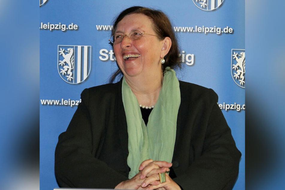 Leipzigs Baubürgermeisterin Dorothee Dubrau (63)