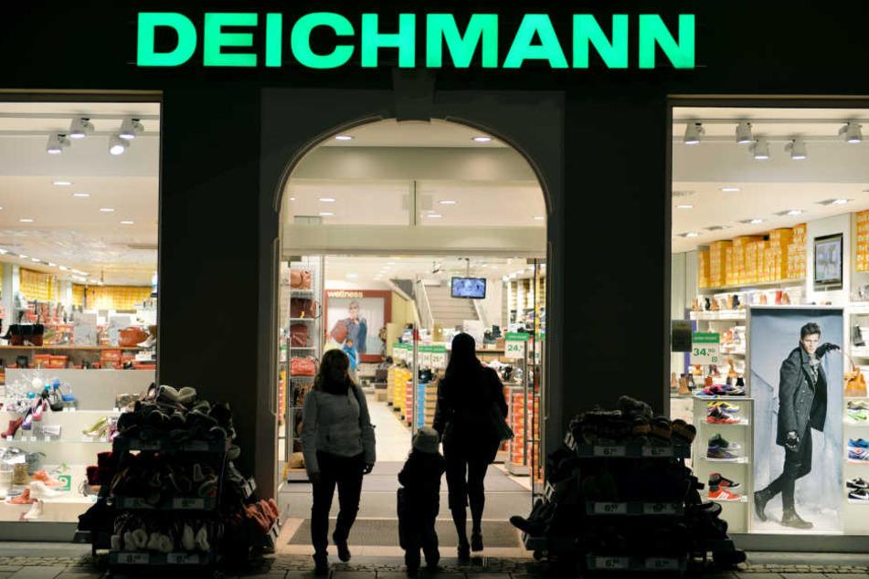 Ein Laden von Deichmann.