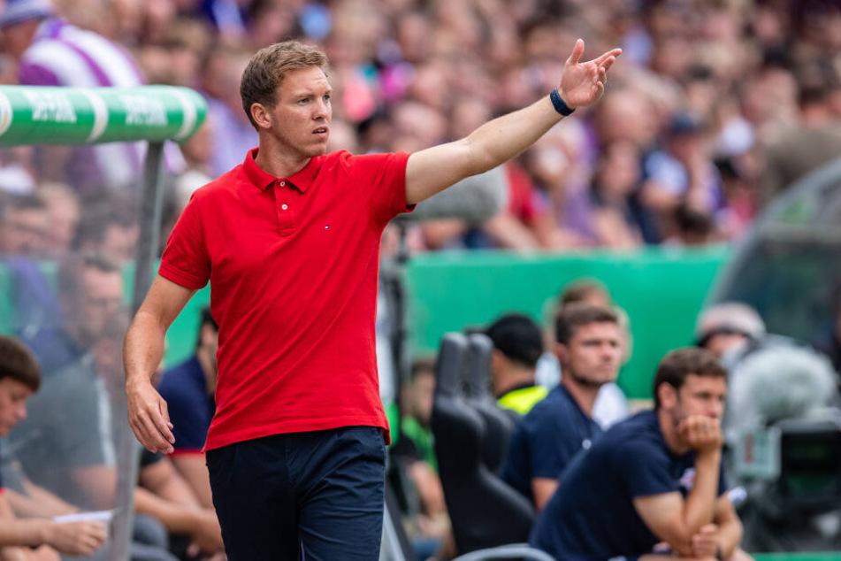 Hat noch einiges an Arbeit vor der Brust: RB Leipzigs neuer Coach Julian Nagelsmann.
